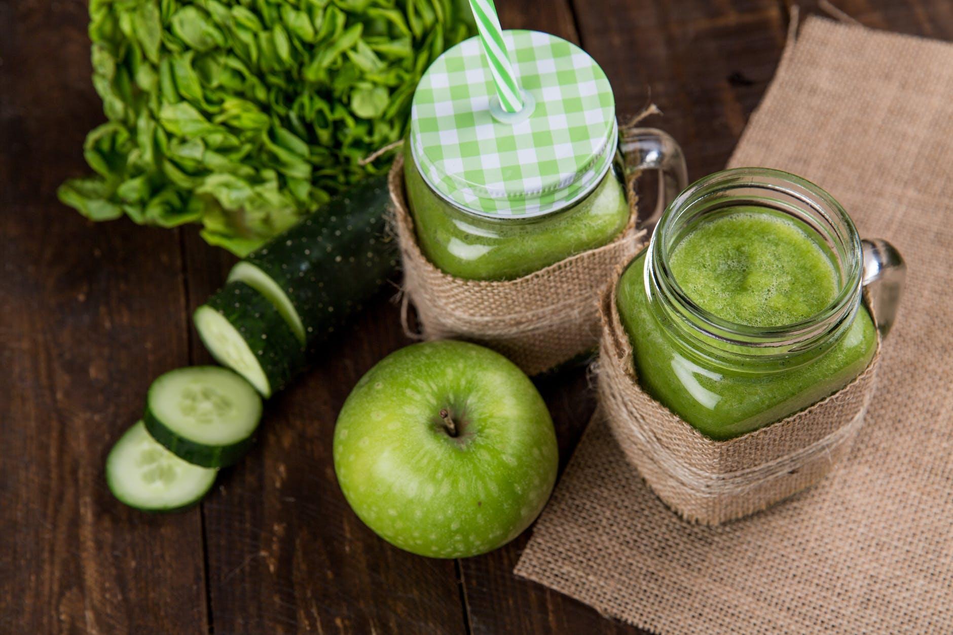 apple close up cucumber delicious
